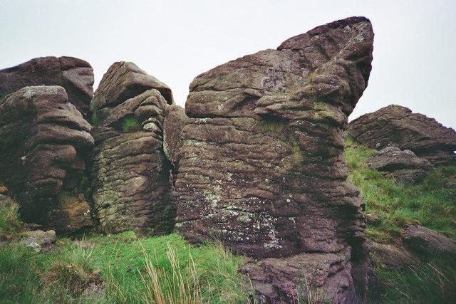 Millstone Grit Whelpstone Crag