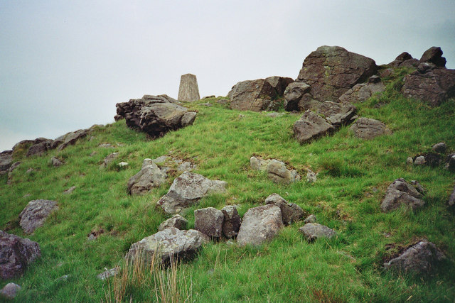 Trig point at Whelpstone Crag