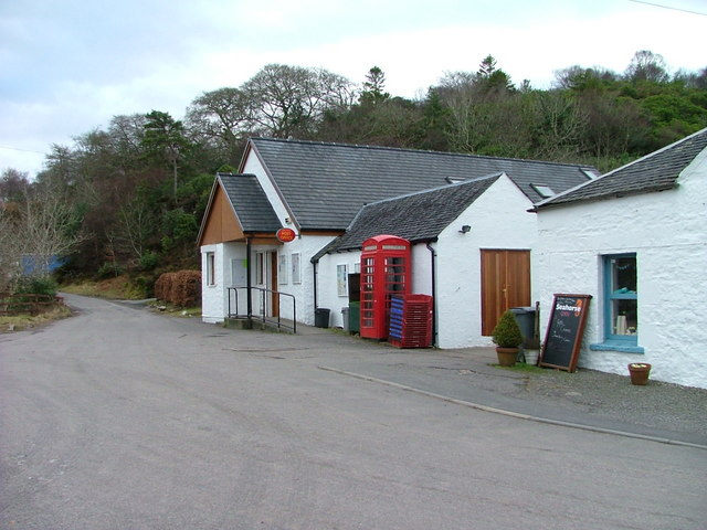 Port Appin shop and Post office