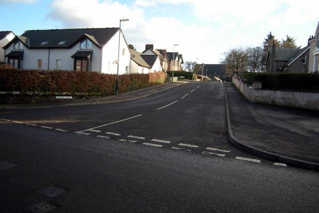 View of Argyll Street, Brechin