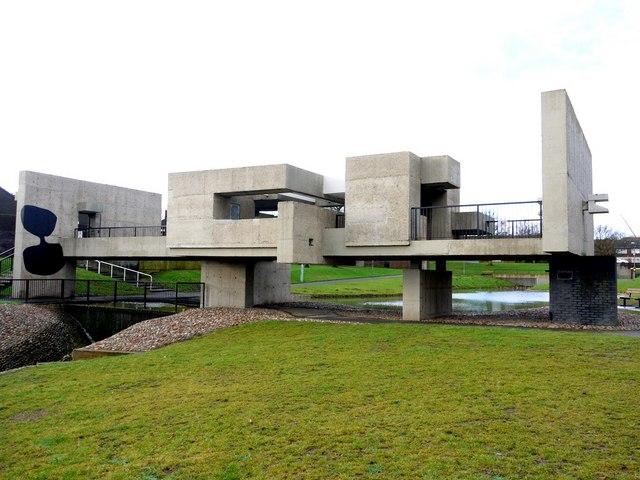 Victor Pasmore's 'Apollo Pavilion', Peterlee