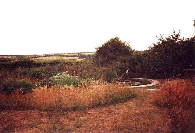 The pond, Wembworthy County Education Centre, Devon