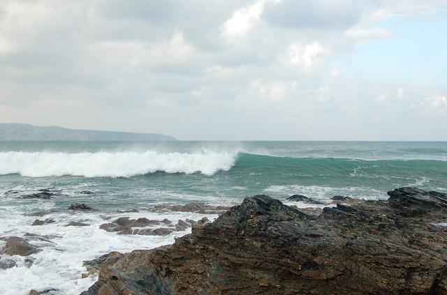 Winter waves at Godrevy (1)