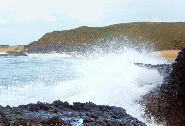 Winter waves at Godrevy (3)