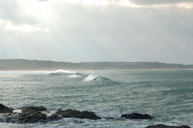Winter waves at Godrevy (5)