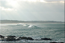 SW5842 : Winter waves at Godrevy (5) by Andy F