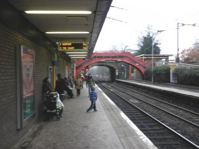 Metro station, South Gosforth