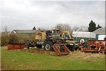 SP5163 : Farm clutter near Flecknoe by Andy F