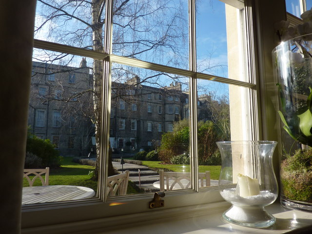 Morning coffee time in the Royal Crescent Hotel
