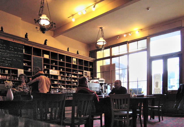 Inside the Coffee Shop, Parliament House, Dolgellau