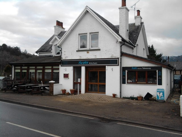 Restaurant on the A82 at Fort Augustus