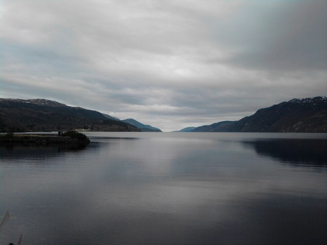 Loch Ness from Fort Augustus Abbey