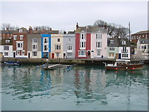 SY6878 : Weymouth harbour entrance by Reiner Tegtmeyer