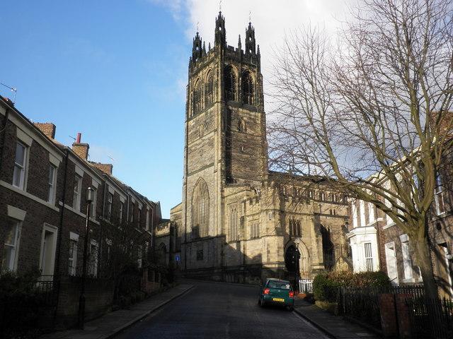 St Matthew's Church, Big Lamp, Newcastle