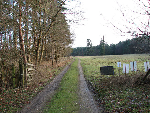 Track to West Harling
