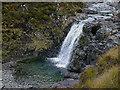 NG4628 : Waterfall on the Allt Dearg Mòr by Nigel Brown