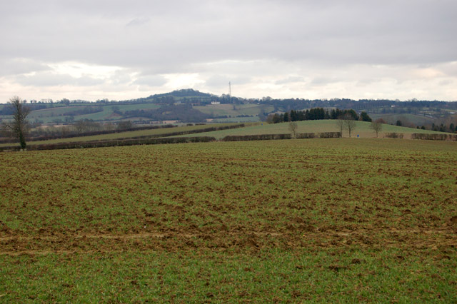 The view southeast from Flecknoe