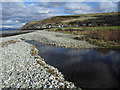 SH5810 : Afon Gwril at the coast by Dave Croker