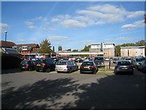SU7682 : Station car park by Sandy B