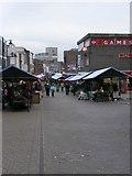 SP0198 : Market Scene by Gordon Griffiths