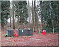 TL9484 : Chemical disposal point by Thorpe Woodlands Adventure Centre by Evelyn Simak