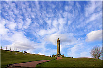 SK3455 : Crich memorial Stand by Paul Brentnall
