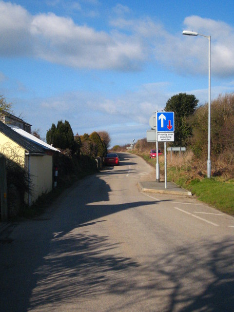 Traffic calming at Fiddlers Green