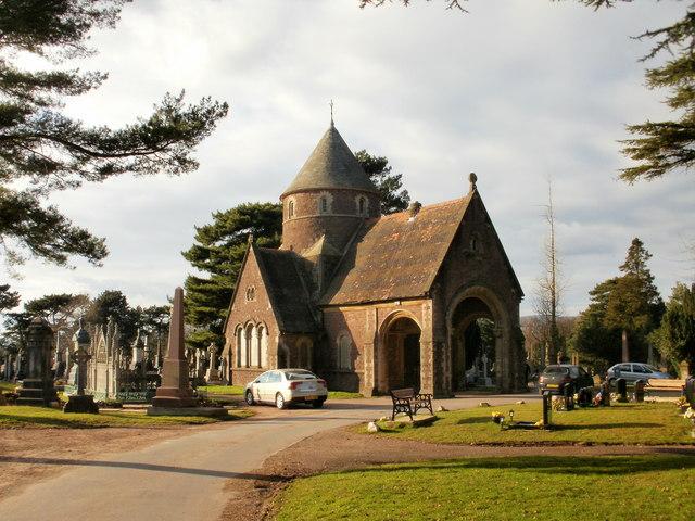 Former chapel (1), St Woolos Cemetery, Newport