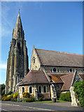 SZ5881 : St Saviour on the Cliff, Shanklin, Isle of Wight by Christine Matthews