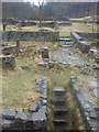 SD6619 : The ruins of Hollinshead Hall and Farm by Andrew Gritt