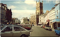 SP0202 : Cirencester, Market Place by Michael Westley