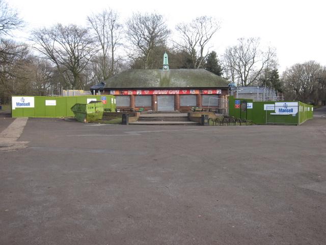Sefton Park - the Aviary Cafe