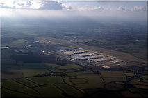 TL5523 : Stansted Airport from the air by Thomas Nugent