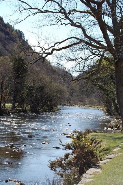 Beddgelert : Afon Glaslyn