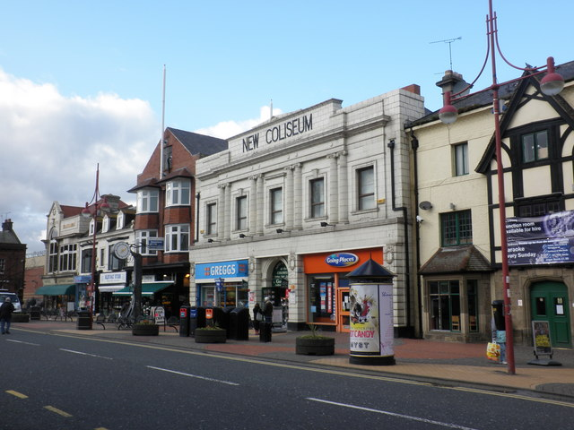 New Colliseum building, Whitley Road