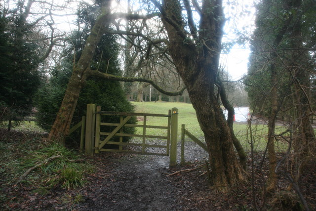 Gate on the Sussex Border Path, near Waystrode Manor