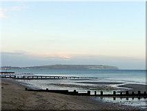 SZ5881 : Shanklin Beach, Isle of Wight by Christine Matthews