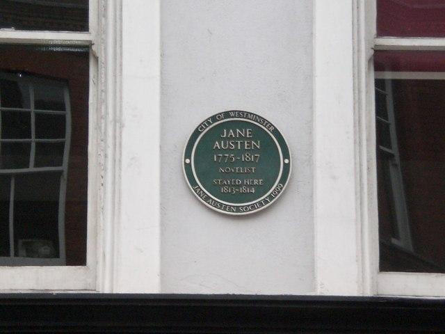 Jane Austen stayed here