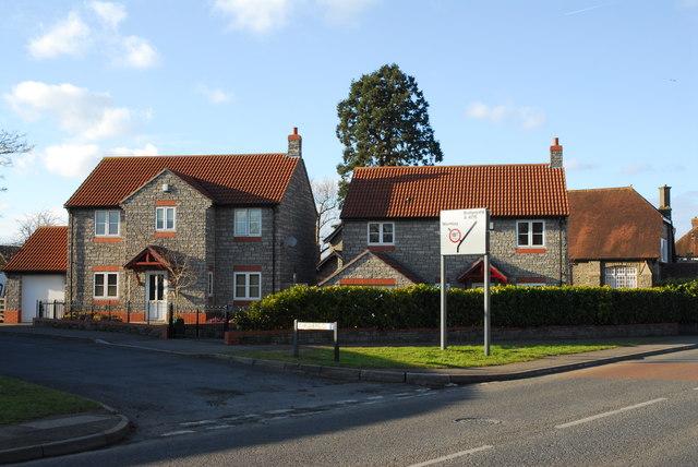 Modern houses, Oldland Common