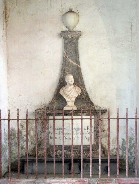 St Mary the Virgin, Narford, Norfolk - Monument