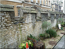 ST7464 : Medieval Wall by Rick Crowley