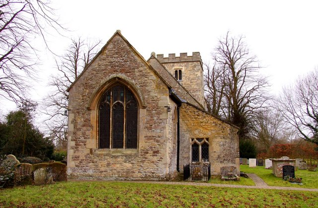 The east end of St. Peter and St. Paul's Church in Worminghall