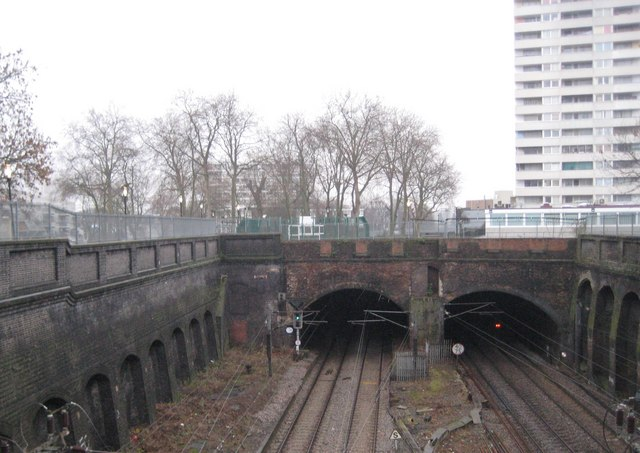 Gospel Oak: Site of the former Haverstock Hill railway station