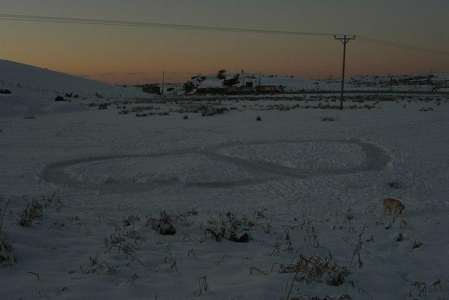 Frozen pond Pant Quarry