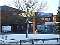SP0664 : Alexandra Hospital Main Entrance by peter Dodman