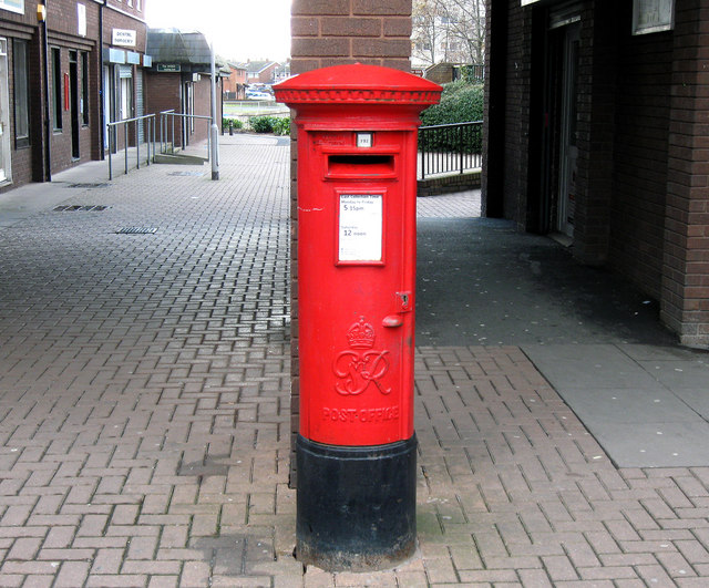 GVI Post Box. Hadley, Telford