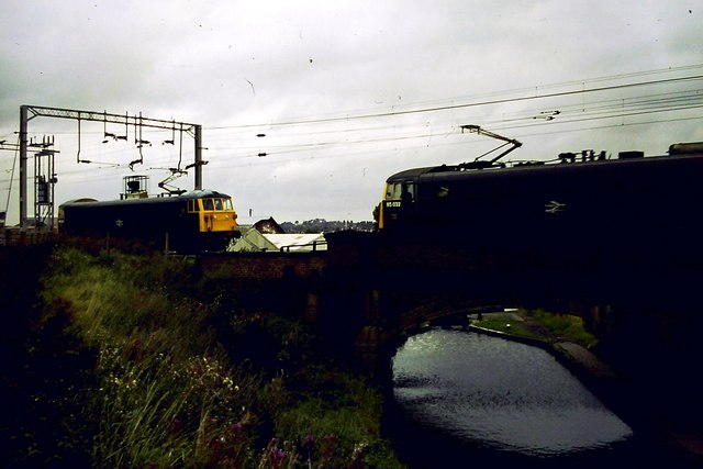 Canal and railway, Wolverhampton