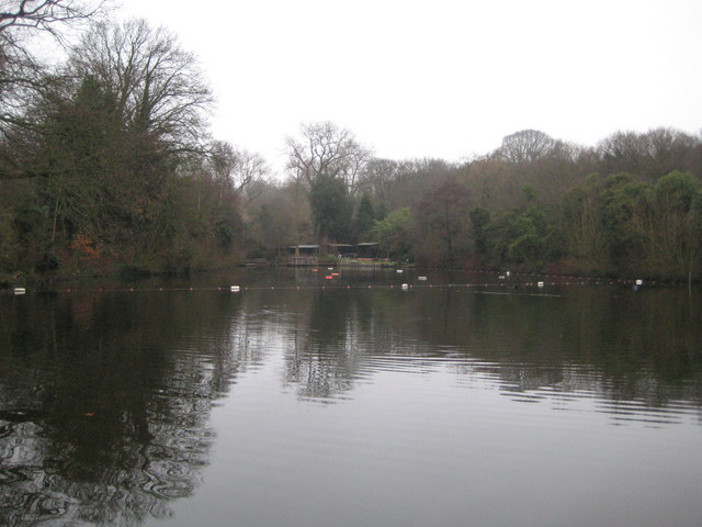 Hampstead Heath: Pond Number 3 (The Mixed Bathing Pond)