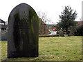 SK8059 : Holme: St Giles' churchyard by John Sutton