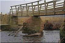 NY5027 : Flood Damaged Footpath by Mick Garratt
